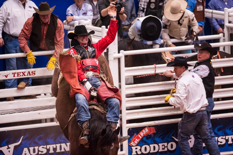 Bronco Rider, Austin Rodeo