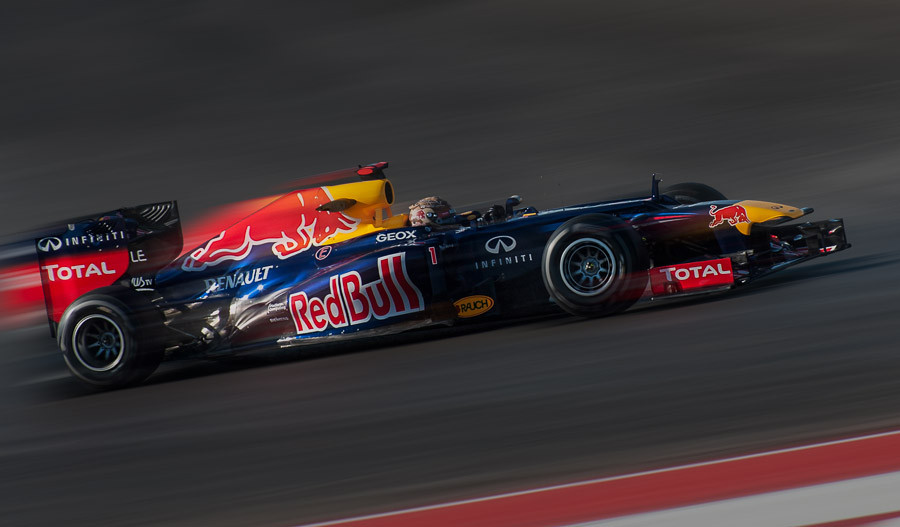 Vettel at COTA