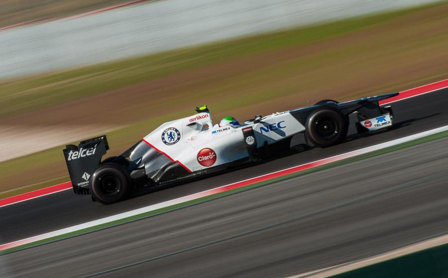 Sergio Perez at Circuit of the Americas
