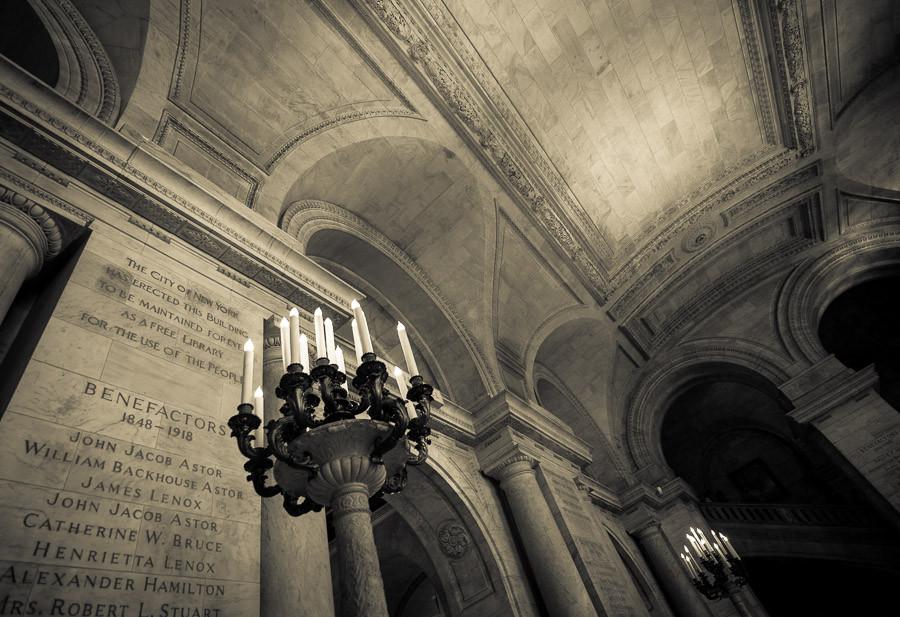 Foyer, New York Public Library