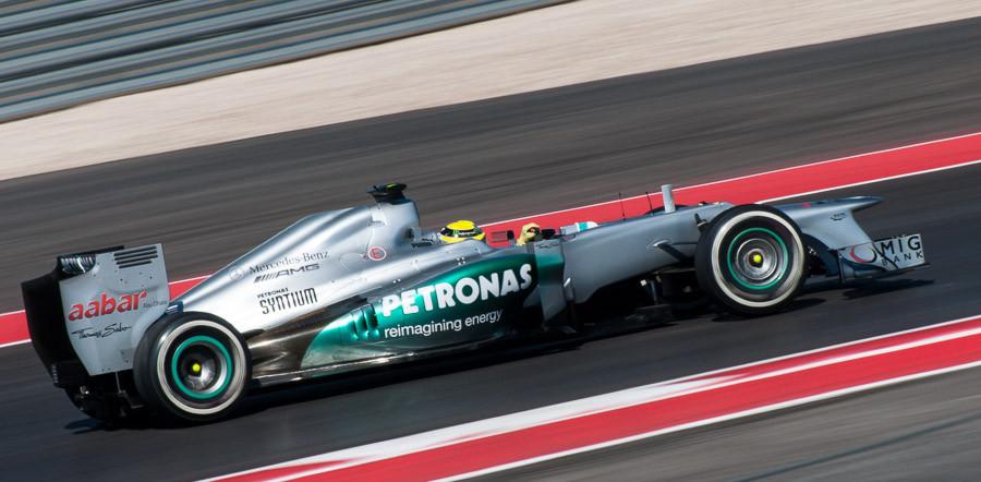 Nico Rosberg at CoTA