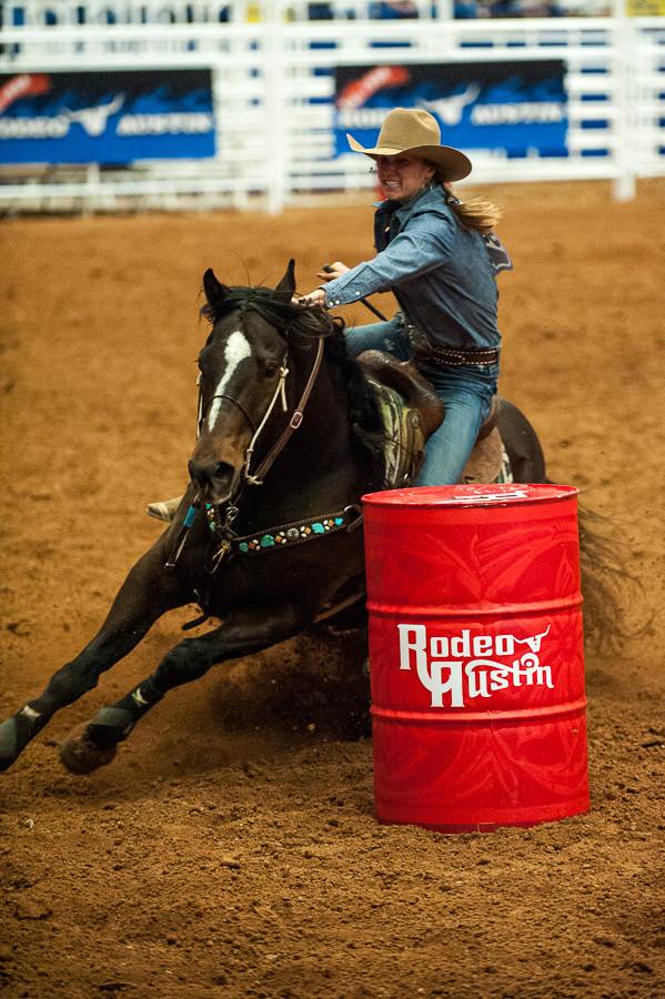 Barrel Racer, Austin Rodeo