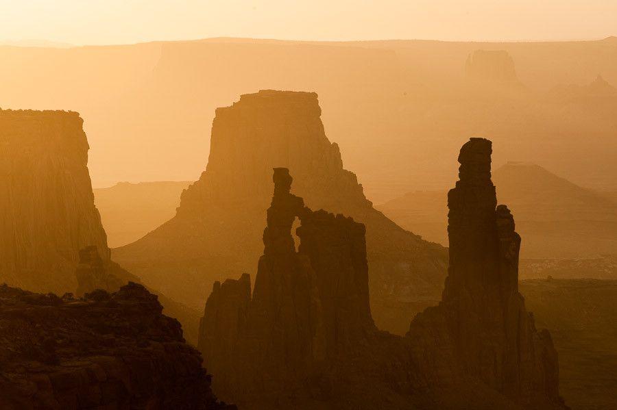 NXNW 2013: Canyonlands Spires at Sunrise