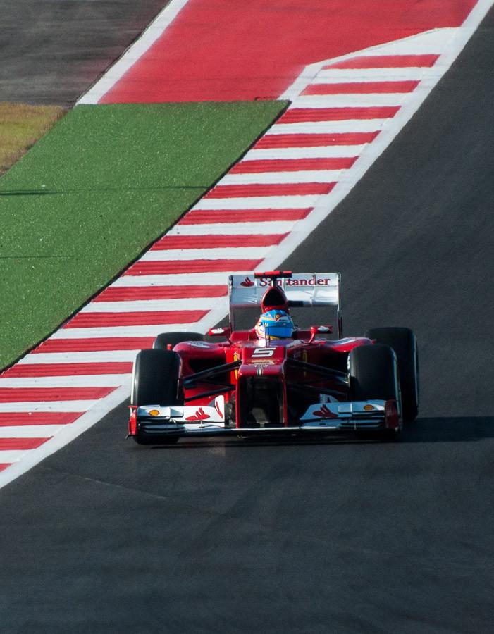 Fernando Alonso, 2013 US Grand Prix