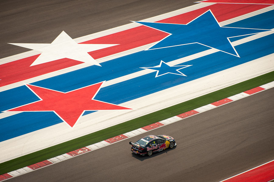 Whincup and the Stars and Stripes of CoTA