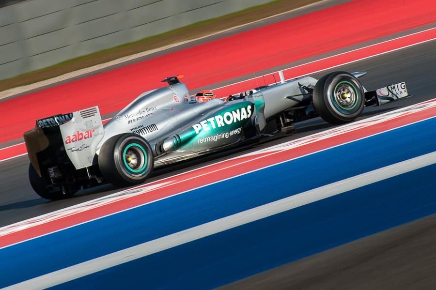 Michael Schumacher, Mercedes AMG