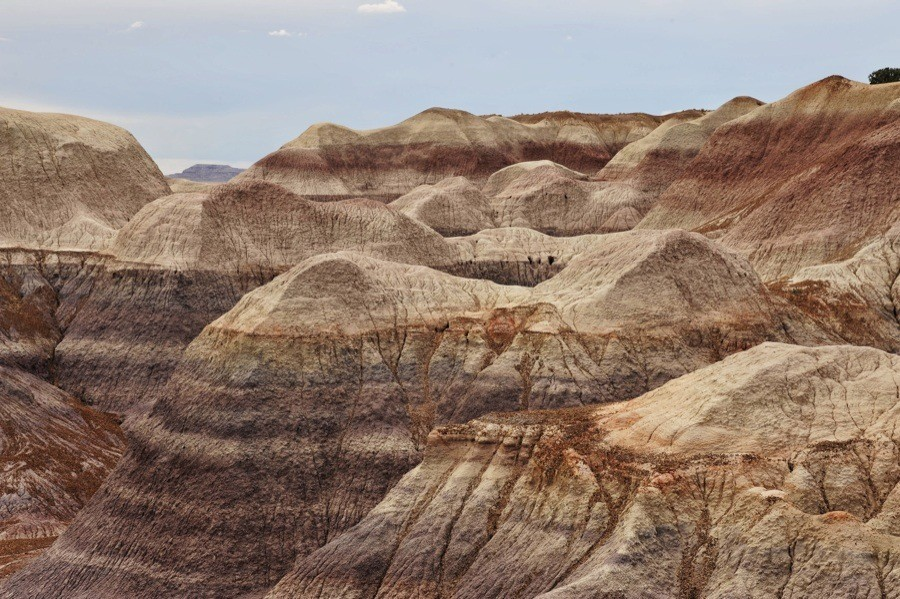 Badlands at Blue Mesa, Petrified Forest National Park