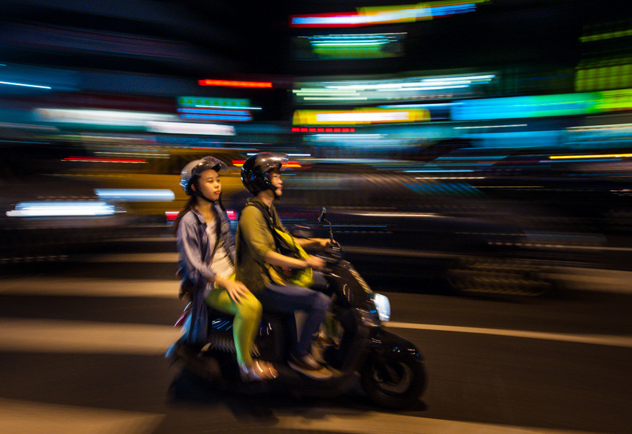 Scooter in Taipei