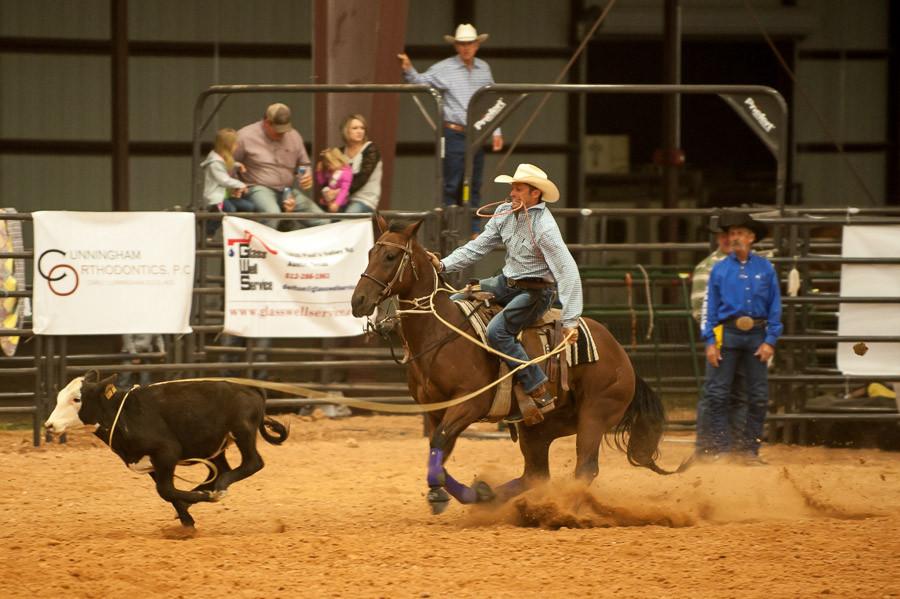 Steer Roping, Dripping Springs Rodeo