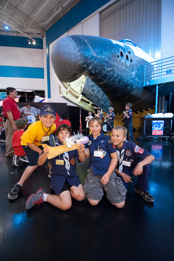 Space Center Houston Camp