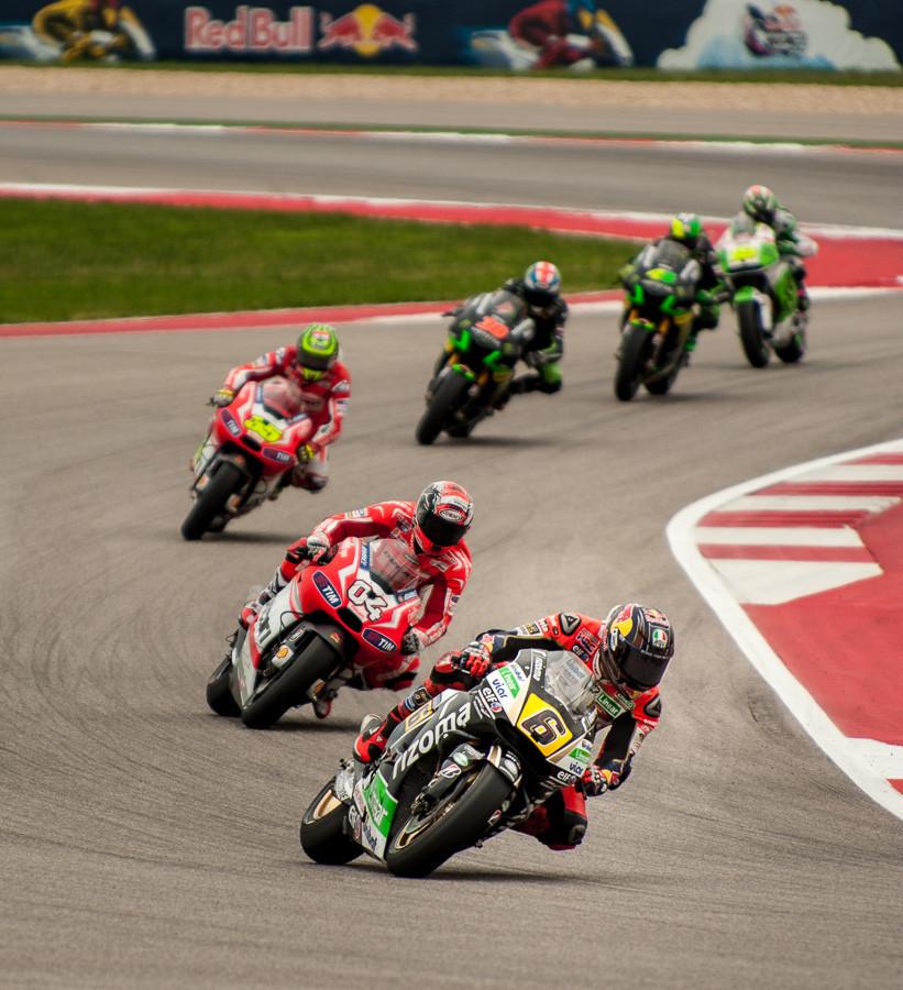 MotoGP Riders at Turn 14