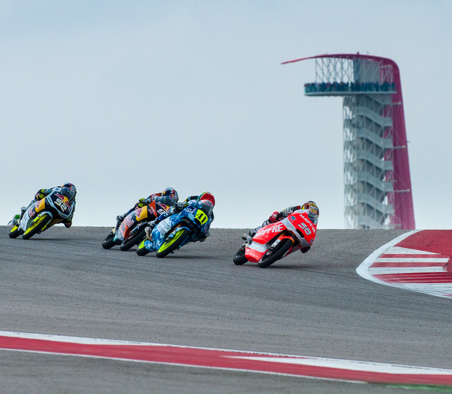 Moto3 Riders at Circuit of the Americas
