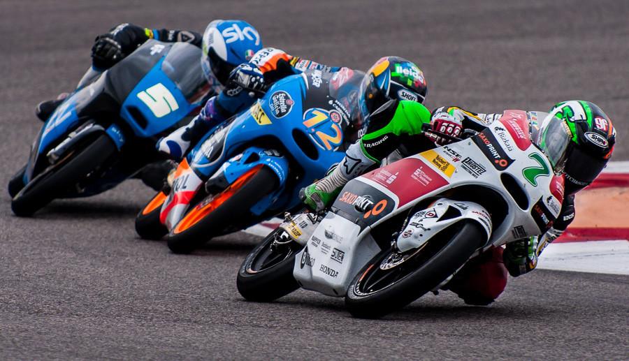 Moto3 Riders at CoTA