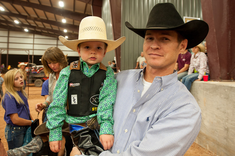 Two Generations, Dripping Springs Rodeo