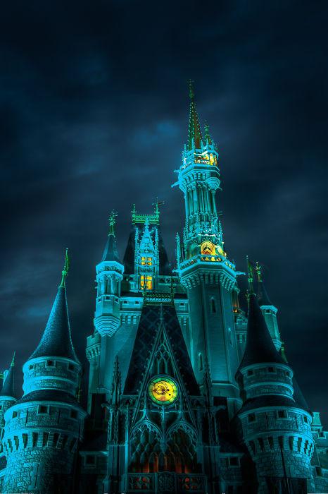 Cinderella Castle Photography Cinderella's Castle After Dark
