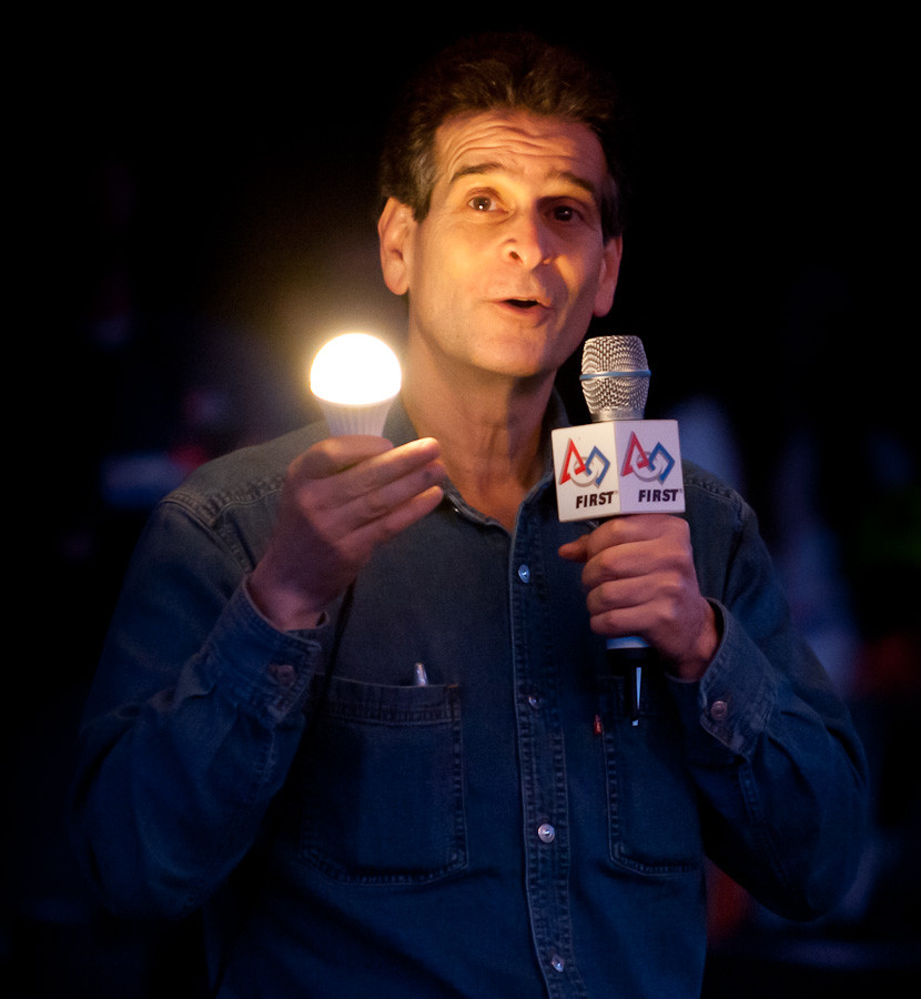 Dean Kamen and Google's Light Bulb | Dave Wilson Photography:Dean Kamen is probably best known to the American public as the guy who invented  the Segway but there's a great deal more to him than a funky, ...,Lighting