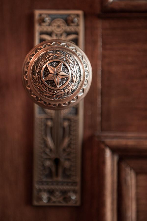 Capitol Door Knob   Dave Wilson Photography