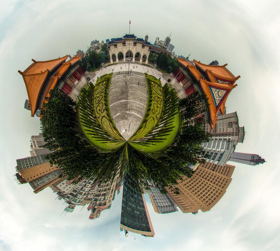 Tiny Planet Taipei Dave Wilson Photography