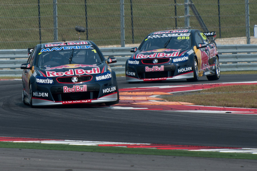 Red Bull In Front V8 Supercars Dave Wilson Photography
