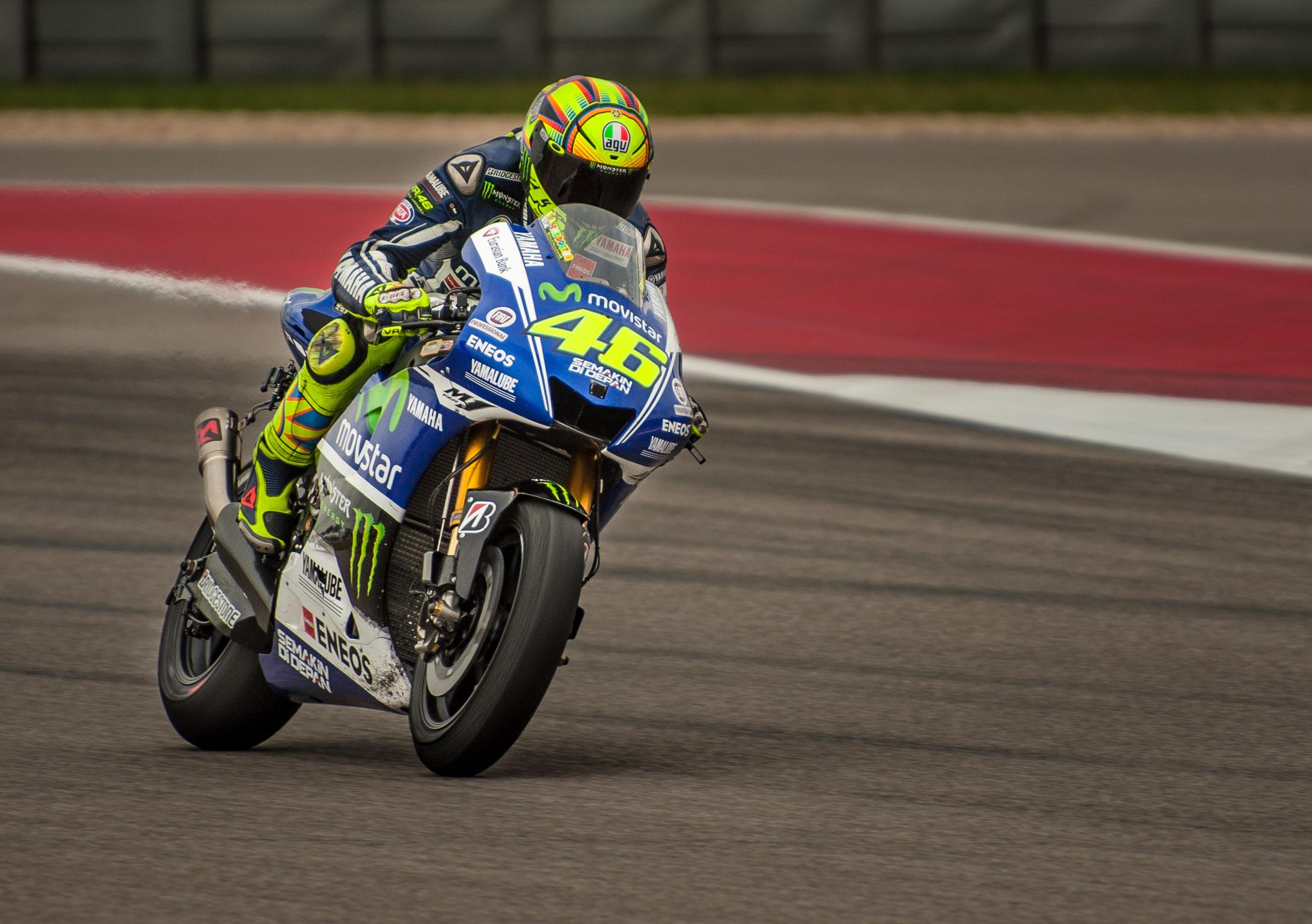 Valentino Rossi, Movistar Yamaha | Dave Wilson Photography