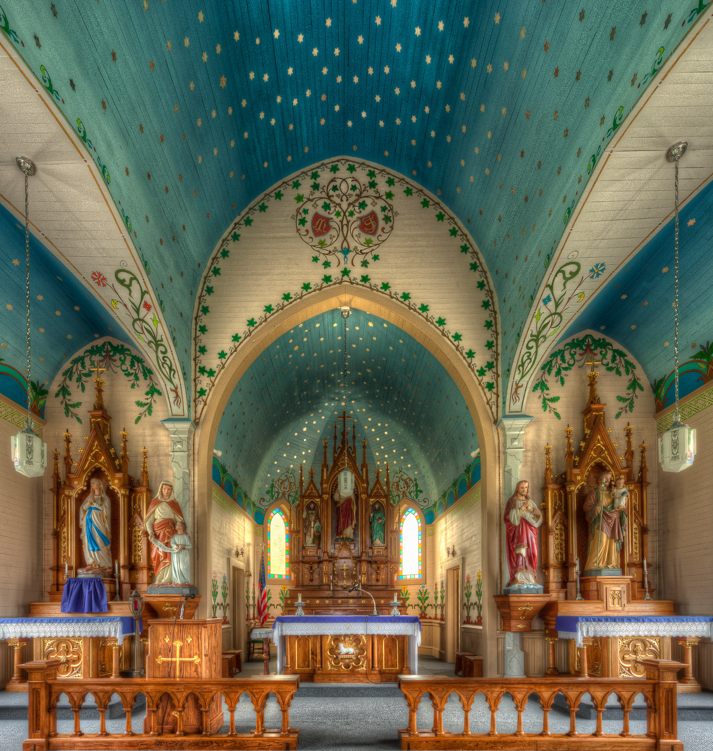 Sts Cyril And Methodius Church Dubina Texas Dave