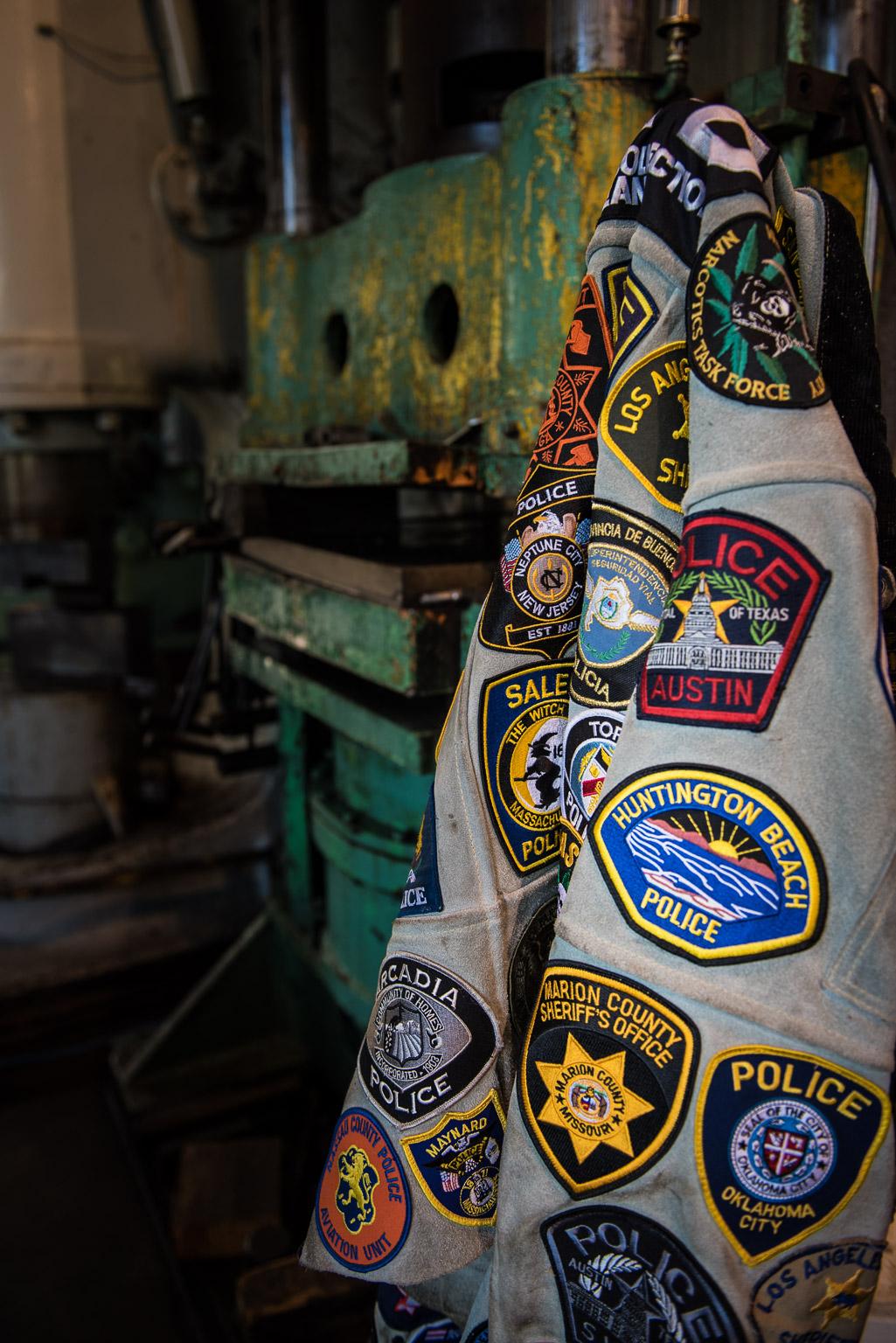 Jesse James Patch Jacket Dave Wilson Photography
