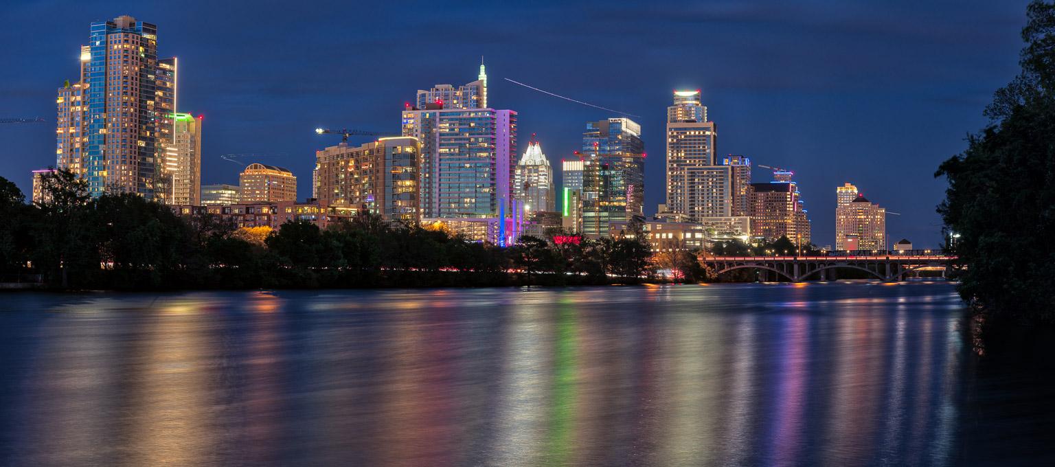 Austin Skyline 2017 Dave Wilson Photography