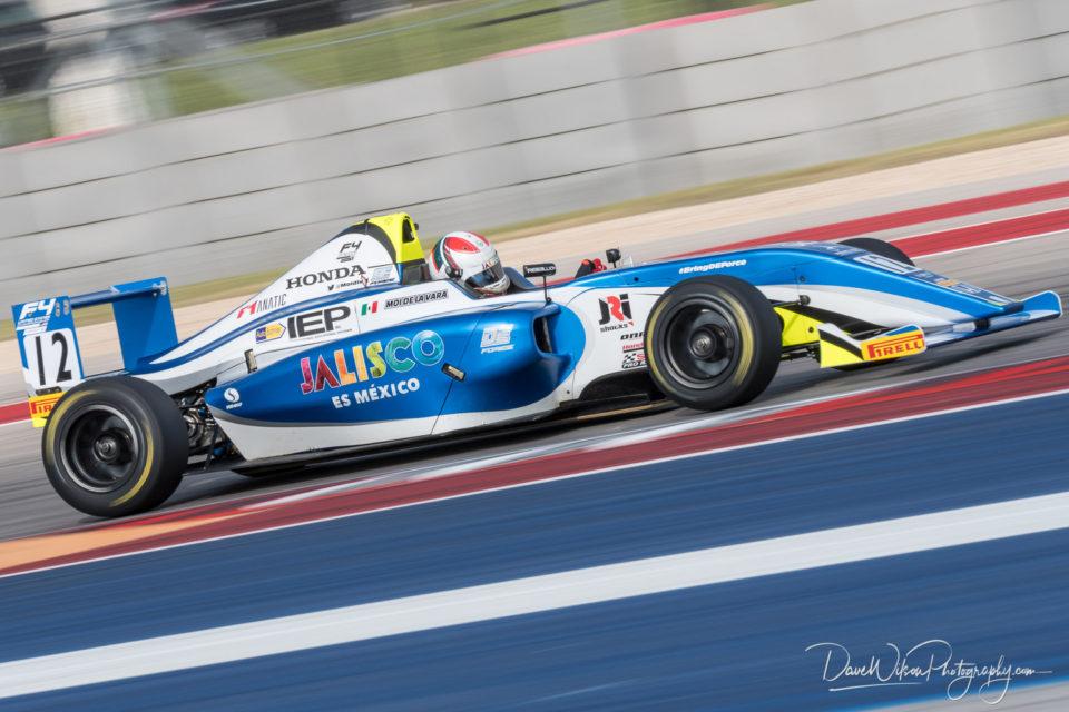 Moi De La Vara, US F4 Championship | Dave Wilson Photography