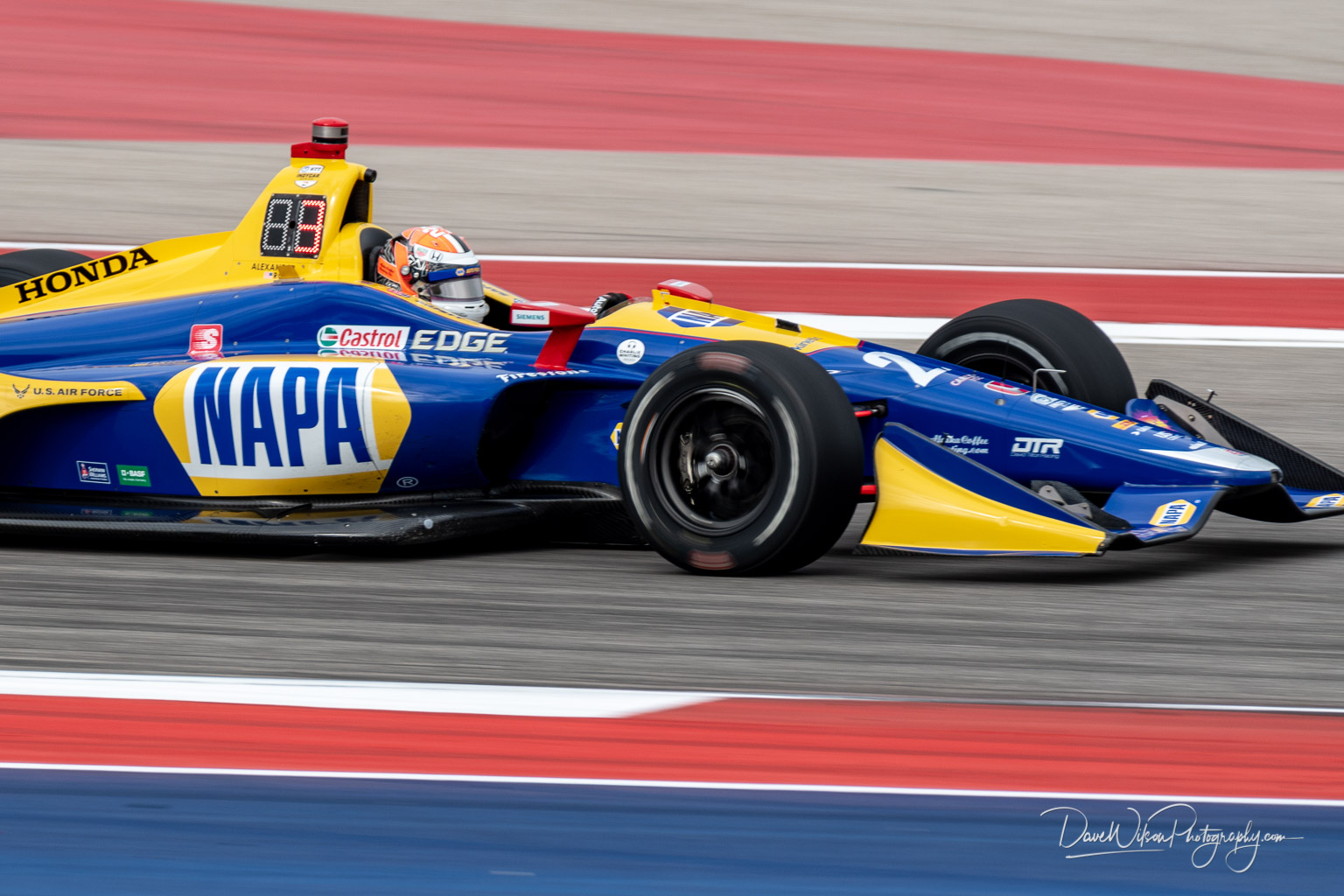 Alexander Rossi Andretti Autosport Dave Wilson Photography